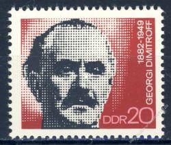 DDR 1972 Mi-Nr. 1784 ** 90. Geburtstag von Georgi Dimitrow