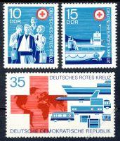 DDR 1972 Mi-Nr. 1789-1791 ** Deutsches Rotes Kreuz der DDR