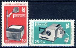 DDR 1972 Mi-Nr. 1782-1783 ** Leipziger Herbstmesse