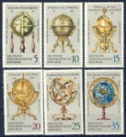DDR 1972 Mi-Nr. 1792-1797 ** Erd- und Himmelsgloben