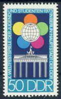 DDR 1973 Mi-Nr. 1867 ** Weltfestspiele der Jugend und Studenten
