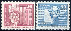 DDR 1973 Mi-Nr. 1820-1821 ** Aufbau in der DDR