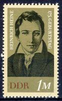DDR 1972 Mi-Nr. 1814 ** 175. Geburtstag von Heinrich Heine