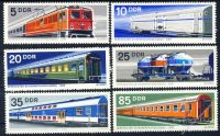 DDR 1973 Mi-Nr. 1844-1849 ** Vereinigter Schienenfahrzeugbau
