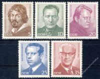 DDR 1973 Mi-Nr. 1815-1819 ** Bedeutende Persönlichkeiten