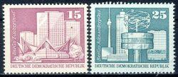 DDR 1973 Mi-Nr. 1853-1854 ** Aufbau in der DDR