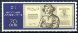 DDR 1973 Mi-Nr. 1828 ** 500. Geburtstag von Nikolaus Kopernikus