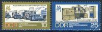 DDR 1973 Mi-Nr. 1832-1833 ** Leipziger Frühjahrsmesse