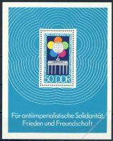 DDR 1973 Mi-Nr. 1867 (Block 38) ** Weltfestspiele der Jugend und Studenten
