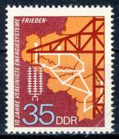 DDR 1973 Mi-Nr. 1871 ** 10 Jahre vereinigte Energiesysteme