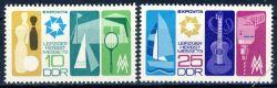 DDR 1973 Mi-Nr. 1872-1873 **  Leipziger Herbstmesse