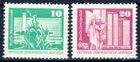 DDR 1973 Mi-Nr. 1868-1869 ** Aufbau in der DDR