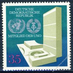 DDR 1973 Mi-Nr. 1883 ** Aufnahme in die Vereinten Nationen