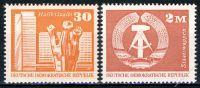 DDR 1973 Mi-Nr. 1899-1900 ** Aufbau in der DDR