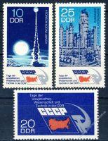DDR 1973 Mi-Nr. 1887-1889 ** Tage der sowjetischen Wissenschaft und Technik in der DDR
