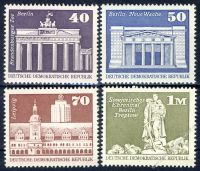 DDR 1973 Mi-Nr. 1879-1882 ** Aufbau in der DDR