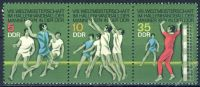 DDR 1974 Mi-Nr. 1928-1930 (ZD) ** Hallenhandball-Weltmeisterschaft der Männer