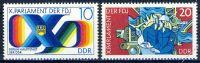 DDR 1976 Mi-Nr. 2133-2134 ** Parlament der Freien Deutschen Jugend