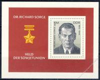 DDR 1976 Mi-Nr. 2115 (Block 44) ** Dr. Richard Sorge