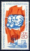 DDR 1976 Mi-Nr. 2146 ** Konferenz der kommunistischen Parteien und der Arbeiterparteien Europas