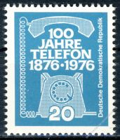 DDR 1976 Mi-Nr. 2118 ** 100 Jahre Telefon