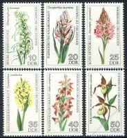 DDR 1976 Mi-Nr. 2135-2140 ** Heimische Orchideen