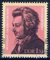 DDR 1981 Mi-Nr. 2572 ** 225. Geburtstag von Wolfgang Amadeus Mozart