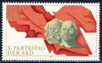 DDR 1981 Mi-Nr. 2582 ** Parteitag der Sozialistischen Einheitspartei Deutschlands