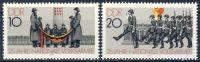 DDR 1981 Mi-Nr. 2580-2581 ** 25 Jahre Nationale Volksarmee