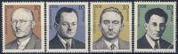 DDR 1981 Mi-Nr. 2589-2592 ** Persönlichkeiten der deutschen Arbeiterbewegung
