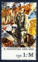 DDR 1981 Mi-Nr. 2599 ** Parteitag der Sozialistischen Einheitspartei Deutschlands