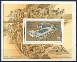 DDR 1981 Mi-Nr. 2600 (Block 64) ** Sport- und Erholungszentrum Berlin