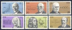 DDR 1981 Mi-Nr. 2603-2608 ** Bedeutende Persönlichkeiten
