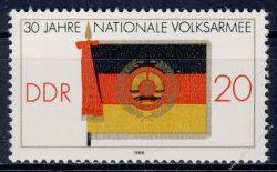 DDR 1986 Mi-Nr. 3001 ** 30 Jahre Nationale Volksarmee