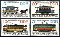 DDR 1986 Mi-Nr. 3015-3018 ** Technische Denkmale