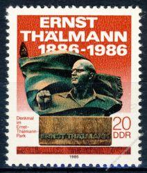 DDR 1986 Mi-Nr. 3014 ** Übergabe des Ernst-Thälmann-Parks