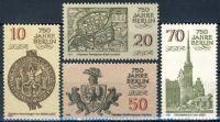 DDR 1986 Mi-Nr. 3023-3026 ** 750 Jahre Berlin