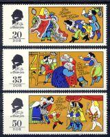 DDR 1975 Mi-Nr. 2096-2098 ** Des Kaisers neue Kleider