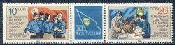 DDR 1981 Mi-Nr. 2609-2610 (ZD) ** Parlament der Freien Deutschen Jugend