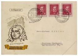 DDR 1952 FDC Mi-Nr. 309 ESt. Händelfest