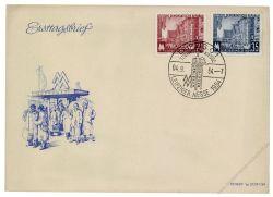 DDR 1954 FDC Mi-Nr. 433-434 SSt. Leipziger Herbstmesse