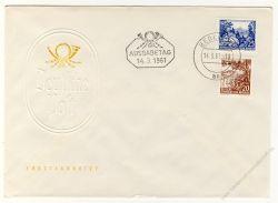 DDR 1961 FDC Mi-Nr. 815-816 ESt. Landschaften und historische Bauten