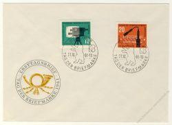 DDR 1961 FDC Mi-Nr. 861-862 SSt. Tag der Briefmarke