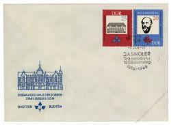 DDR 1966 FDC Mi-Nr. 1165-1166 SSt. 150. Geburtstag Jan Arnost Smoler