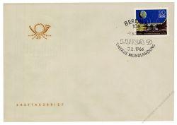 DDR 1966 FDC Mi-Nr. 1168 SSt. 1. Mondlandung Luna 9