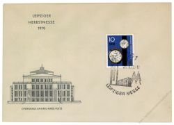 DDR 1970 FDC Mi-Nr. 1601 SSt. Leipziger Herbstmesse