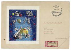 DDR 1971 FDC Mi-Nr. 1636-1643 (Klb) SSt. 10 Jahre bemannte sowjetische Weltraumflüge