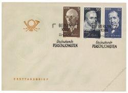DDR 1971 FDC Mi-Nr. 1644-1649 SSt. Berühmte Persönlichkeiten
