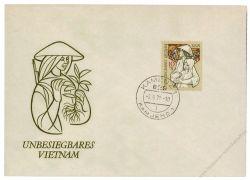 DDR 1971 FDC Mi-Nr. 1699 ESt. Unbesiegbares Vietnam