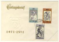 DDR 1971 FDC Mi-Nr. 1672-1674 ESt. 500. Geburtstag von Albrecht Dürer